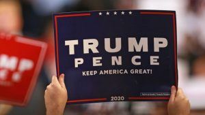 Michigan worker requires 13 stitches after slicing fingers on booby-trapped Trump-Pence sign