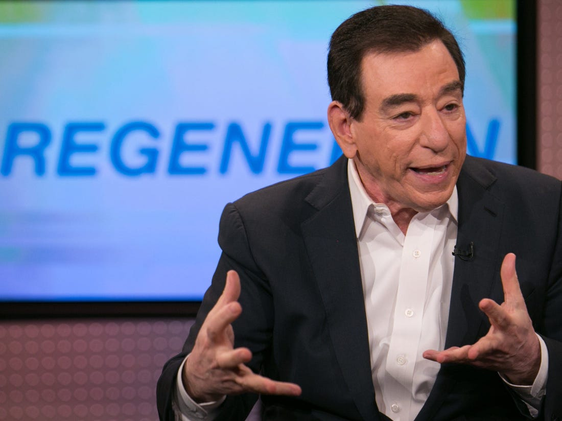 "Regeneron CEO: Trump is the 'weakest evidence' for Covid-19 treatment, ""large clinical trials"" are still needed."