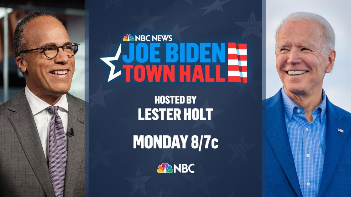 Watch Joe Biden's Town Hall with Lester Holt