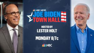 Watch Joe Biden's Town Hall with Lester Holt