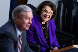 "Dianne Feinstein Gives Lindsey Graham Hugs and Praise for ""The Best Set of Hearings"""