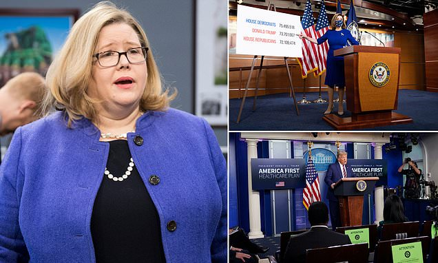 GSA Administrator Emily Murphy Mad She's Getting Pressure to do her job.