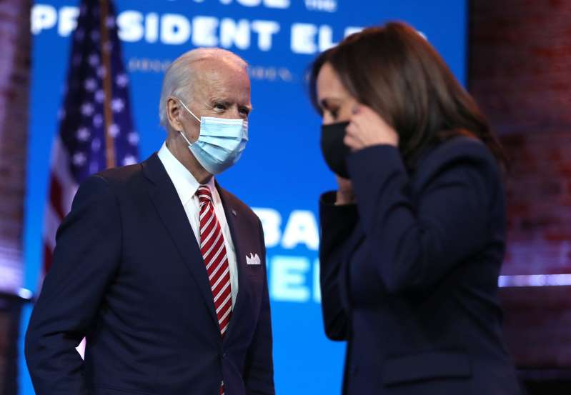 Biden and Harris to receive national security briefing, but not from government officials