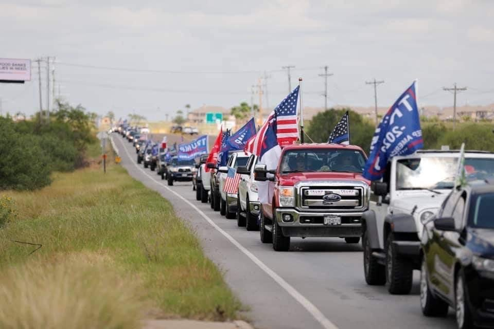 Trump Supporters who Harassed Biden Bus were Armed; Operation Organized in Facebook Group Linked to QAnon