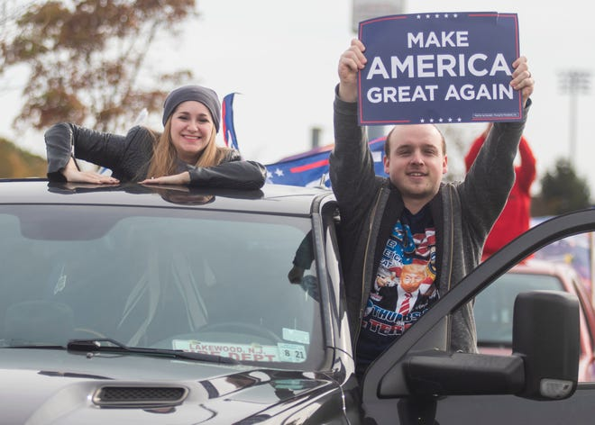 MAGAts shut down New Jersey's Garden State Parkway