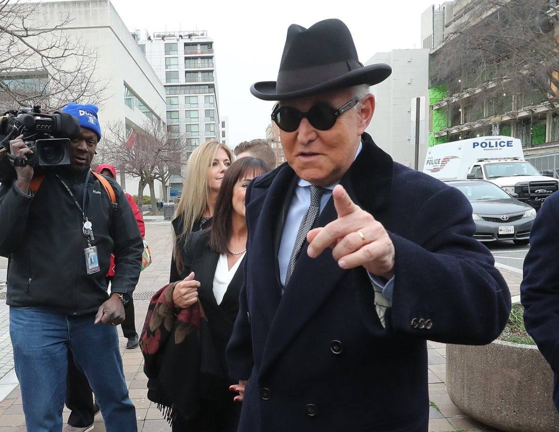 Roger Stone claims North Korea delivered ballots through Maine harbor!
