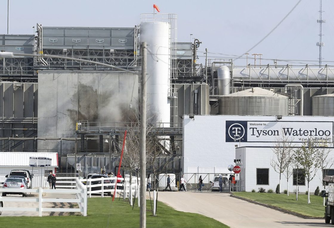 Fired Tyson Foods manager defends betting on workers as 'morale boost'