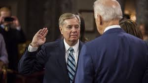 """Lindsey Graham Responds to """"Clueless"""" Biden, Says It's Not Personal"""