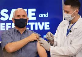 Pence Gets Vaccinated