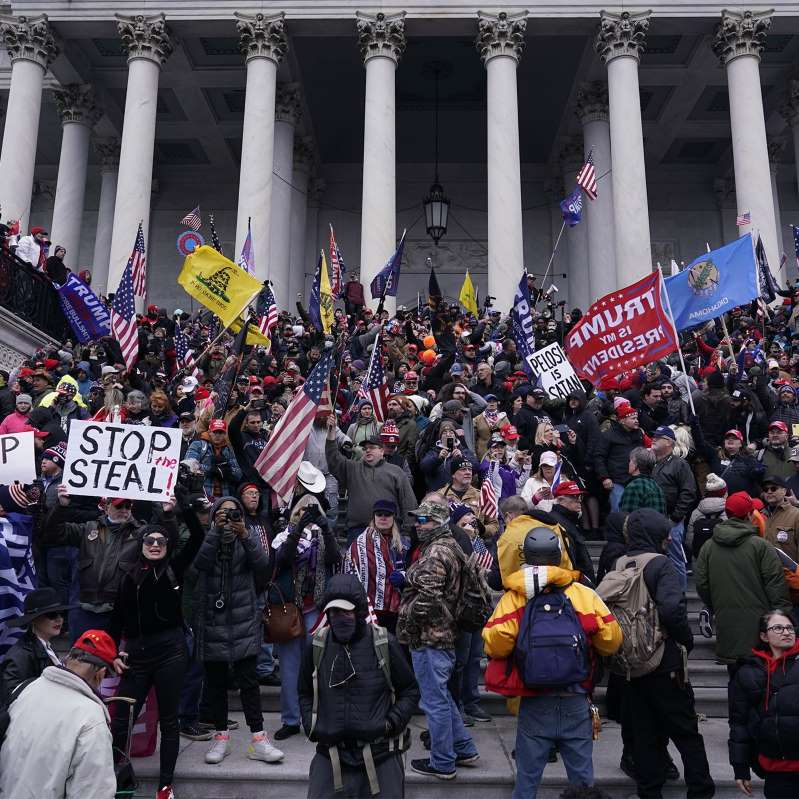 "Stop Calling the Pro-Trump Mob That Stormed the Capitol ""Protesters"""