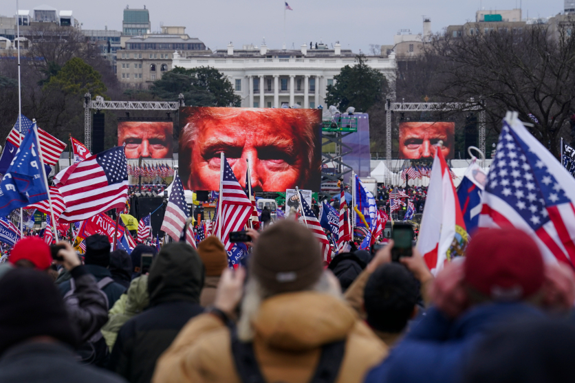Donnie could face charges for inciting the Capitol riot, perhaps even for inciting the murder of a Capitol Police Officer.