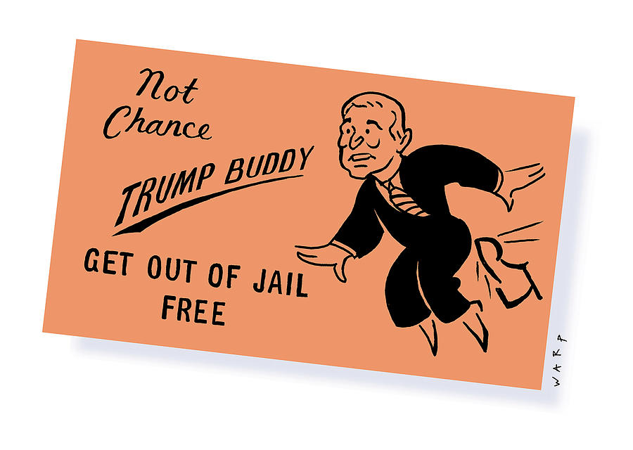 Trump grants clemency to 143 of the corrupt, the rich and the lucky. Guiliani would have made 144. . . .