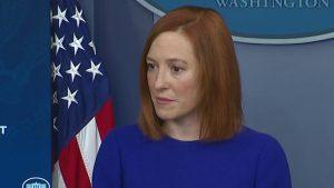 Watch Live:  Jen Psaki's White House Daily Press Briefing
