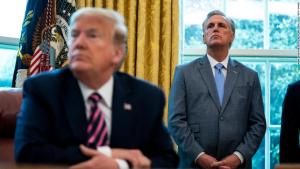 Trump and Kevin McCarthy battled during expletive-filled phone call while the Capitol was under siege