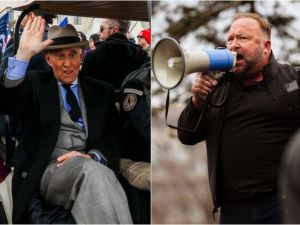 DoJ and FBI investigating what role Alex Jones and Roger Stone played in insurrection