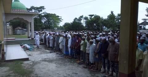 দক্ষিণ সুনামগঞ্জে অবঃ শিক্ষক আজিম উদ্দিন আর নেই,দাফন সম্পন্ন
