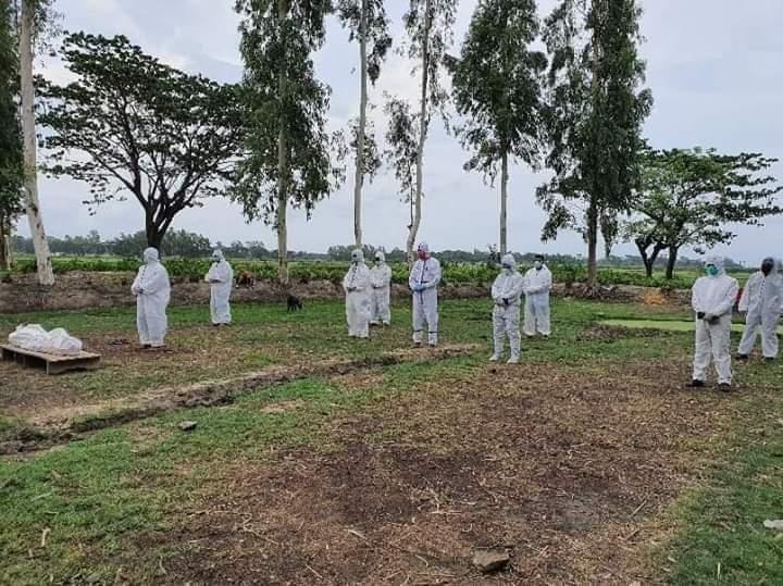 কুতুবদিয়ায় করোনা উপসর্গ নিয়ে মারা যাওয়া রোগী দাফন করল প্রশাসন