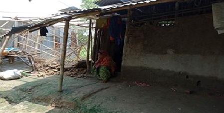 হালিমার ভাগ্যে জোটেনি জমি আছে ঘর নাই প্রকল্পের বরাদ্দ
