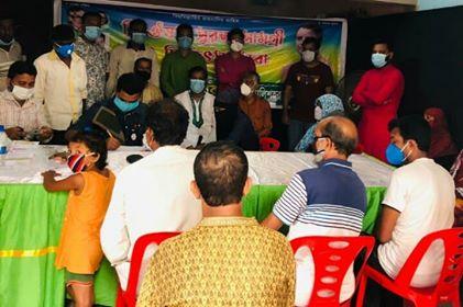 বঙ্গবন্ধু শিশু-কিশোর মেলা হালিশহর থানা কমিটির ফ্রি ঔষধ, সুরক্ষা সামগ্রী ও চিকিৎসা সেবা বিতরণ: