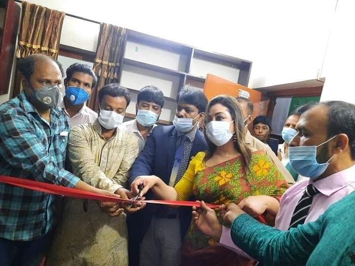 জাতীয় স্বেচ্ছাসেবী সংগঠন সবুজ বাংলাদেশ'র কেন্দ্রীয় কার্যালয় উদ্বোধন