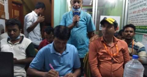 ভৈরবে বাংলাদেশ মফস্বল সাংবাদিক ফোরাম বি এম এস এফ কমিটি গঠন নিয়ে আলোচনা অনুষ্ঠিত