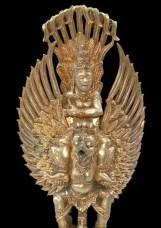 Vishnu auf Garuda