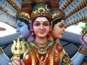 Panchamukhi, Gayatri mit fünf Köpfen