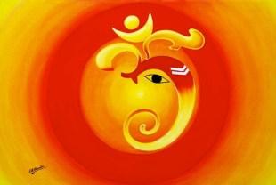 Ganesha minimalisiert