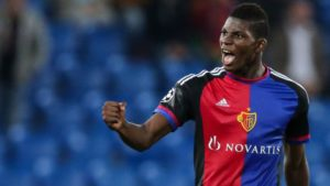 Breel Embolo signed by Schalk 04