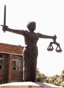Lady-Justice-outside-the-High-Court-in-Lusaka