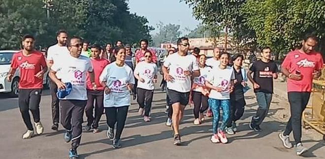 कोटा के धावक अमित चतुर्वेदी ने 250 किमी की अल्ट्रा रन पूरी की