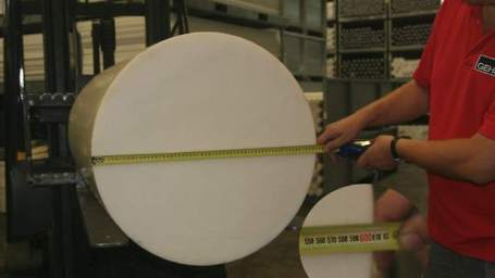 Huge Acetal Copolymer Rod, Over 24