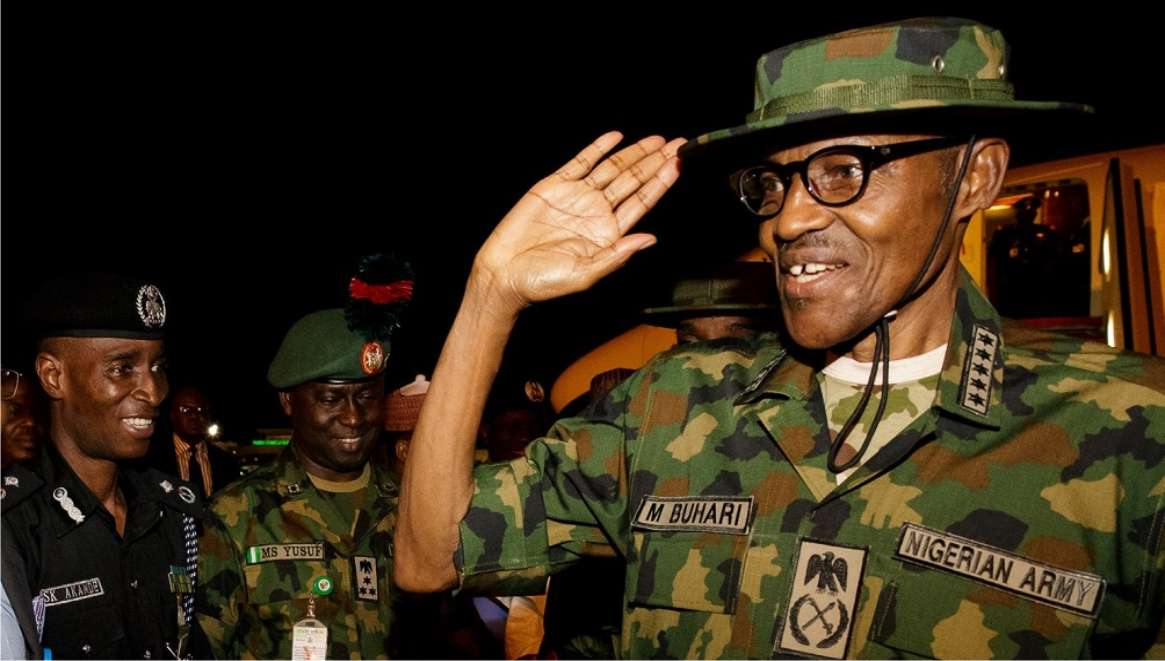 Image result for buhari military