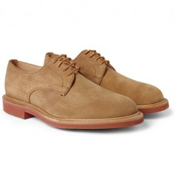 camel mark mcnairy suede derby shoes