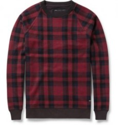 check marc by marc woven cotton shirt