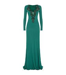 emerald dress2