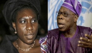 Obasanjo and Daughter | Photo Credit: www.africanspotlight.com/