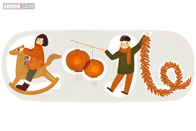 Google Doodle - Chinese-New Year
