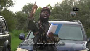 Shekau reads script