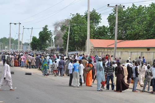 Refugees in Maiduguri