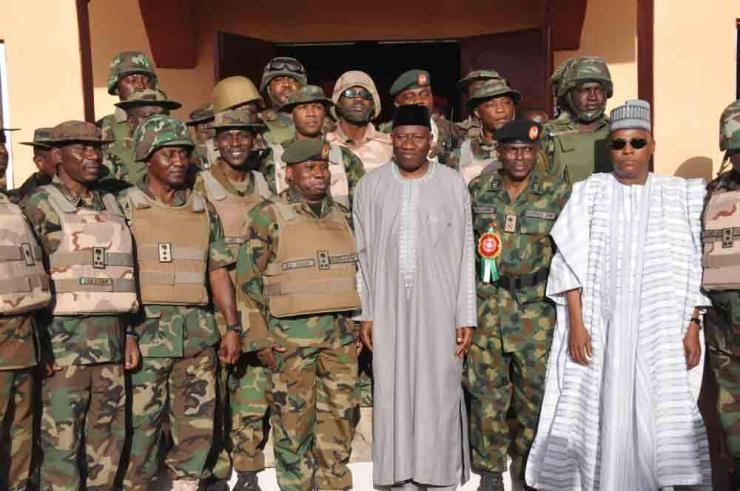 Jonathan with Troops 4