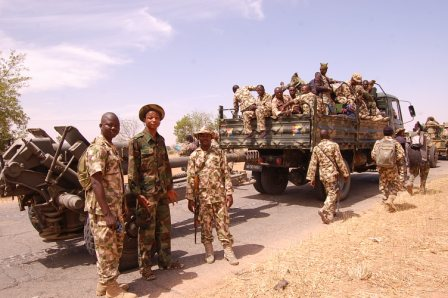 Scene of Nigerian Ground Troops that Recapture Baga  (5)