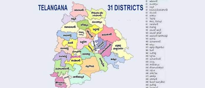 telangana-new-districts