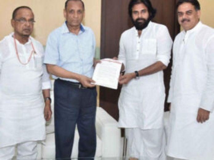 Pawan Kalyan Meets Governor