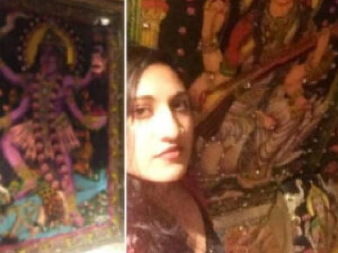 indian woman slams us pub hindu gods toilet walls in new york