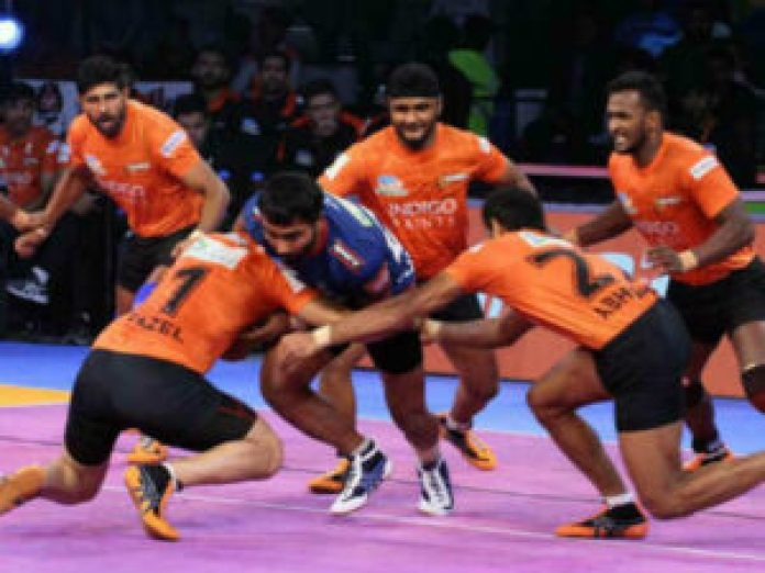 tamil thalaivas haryana steelers match was ending to draw