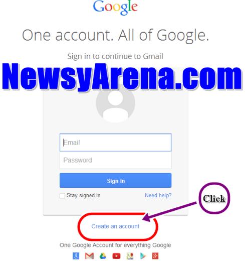 Gmail Registration
