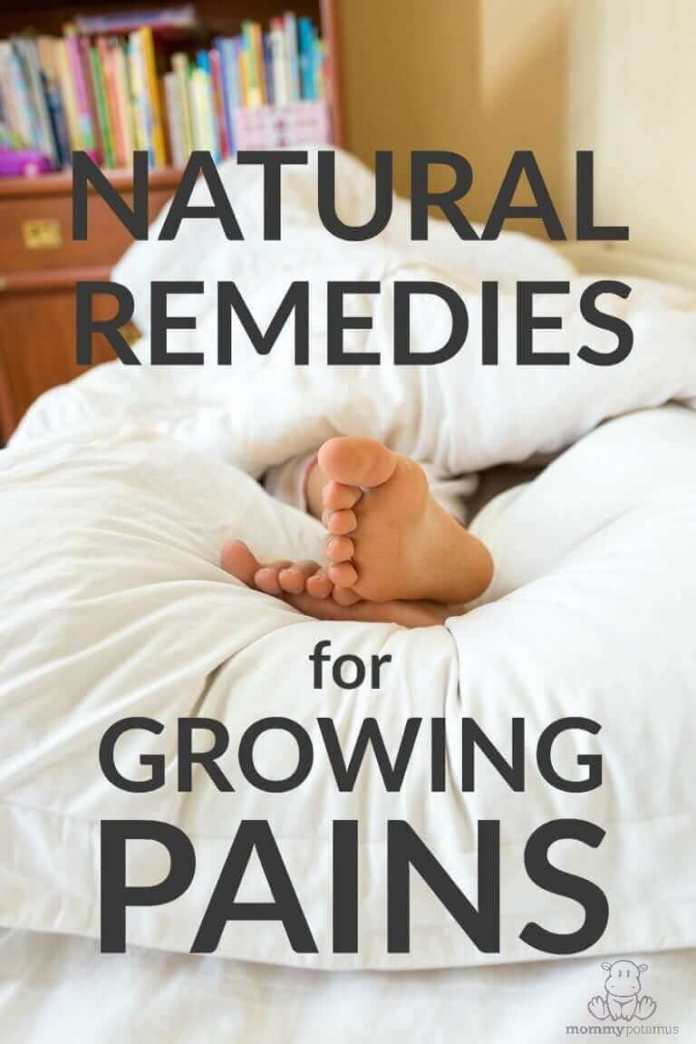 Growing up shouldn't be a pain, but sometimes it is! Here are some natural remedies that studies suggest may be helpful . . .