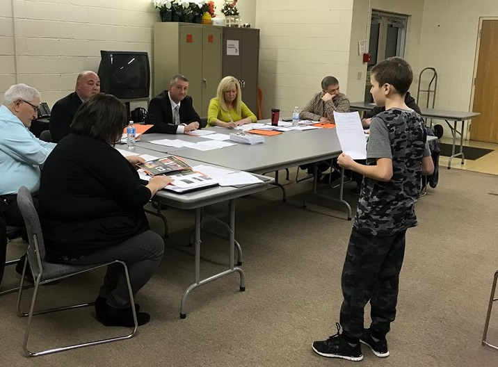 Local 4th Grader Proposes School Safety Preparedness to School Board