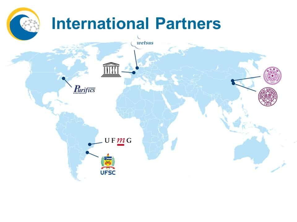 International Partners map